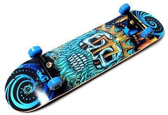 "Професійний скейтборд (Скейт) канадський клен Fish Skateboard ""Neptune"""