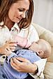 Скляна дитяча пляшечка з силіконовою захистом Everyday Baby 150 мл Колір рожевий, фото 5