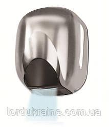 Сушарка для рук металева сатинова VAMA ECOFLOW 550 SF