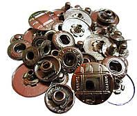 Кнопки вставные металлические (d-2см) цвет никель