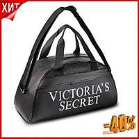 Женская спортивная сумка для фитнеса Victoria s Secret из эко кожи Спортивные фитнес сумки для тренировок