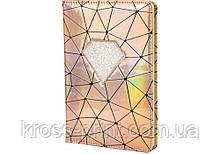 Блокнот PU неоновый, А5, 80 лист., блок - крем. бумага, линия