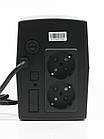 ИБП Maxxter MX-UPS-B650-02 650VA, AVR, 2xShuko, фото 2