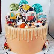 """Вафельные картинки на детский торт и капкейки на День Рождения в Стиле """"Мастерская Биби"""""""
