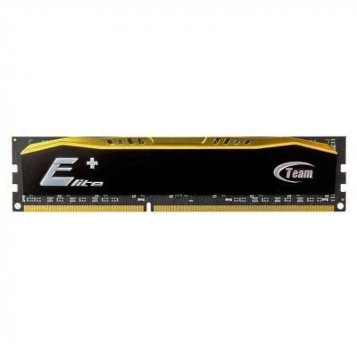 Модуль пам'яті DDR3 4GB/1333 Team Elite Plus Black (TPD34G1333HC901)