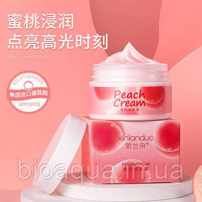 Увлажняющий крем для лица и тела Xin Lan Duo Peach с экстрактом персика 70 g