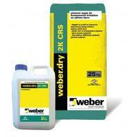 Weber.dry 2K CRS powder (мешок - 25 килограмм)