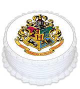 """Вафельные картинки на торт и кексы День Рождения в стиле """"Гарри Поттер"""""""