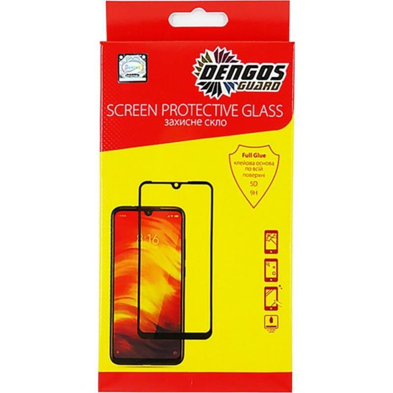 Защитное стекло Dengos SuperD для Apple iPhone 12 Pro Max Black Full Glue (TGFG-SD-03)