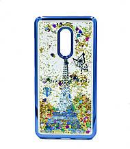 Чехол  для Xiaomi Redmi Note 4  Beckberg AQUA  Paris Blue