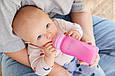 Скляна термочутливий дитяча пляшечка Everyday Baby 240 мл Колір малиновий, фото 6