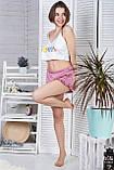 Молодіжна піжама топ + шорти П1-10 Макаруни, фото 4