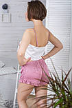 Молодіжна піжама топ + шорти П1-10 Макаруни, фото 5