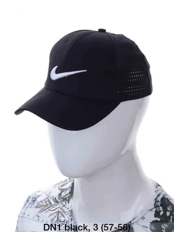 """Кепка чоловіча коттон """"Nike"""" з сіткою репліка р-р 57-58 (від 3 шт)"""