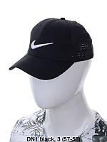 """Кепка чоловіча коттон """"Nike"""" з сіткою репліка р-р 57-58 (від 3 шт), фото 1"""