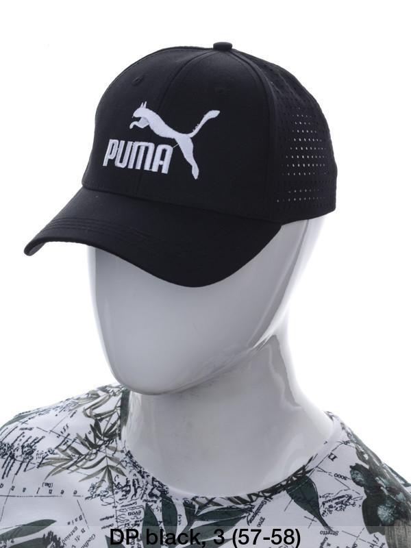 """Кепка чоловіча коттон """"Puma"""" з сіткою репліка р-р 57-58 (від 3 шт)"""