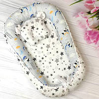 Позиционеры для новорожденных с подушкой, кокон для малышей, Хлопок