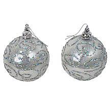 Набор новогодних шаров 2 штук SKL11-208811
