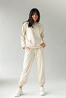 Спортивний костюм з худі і джоггеров DISPATCH - бежевий колір, L (є розміри), фото 1