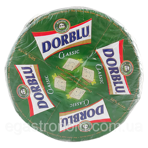 Сир Дорблю Класичний Dorblu Käserei 2,5 kg 2шт/ящ (Код : 00-00001286)