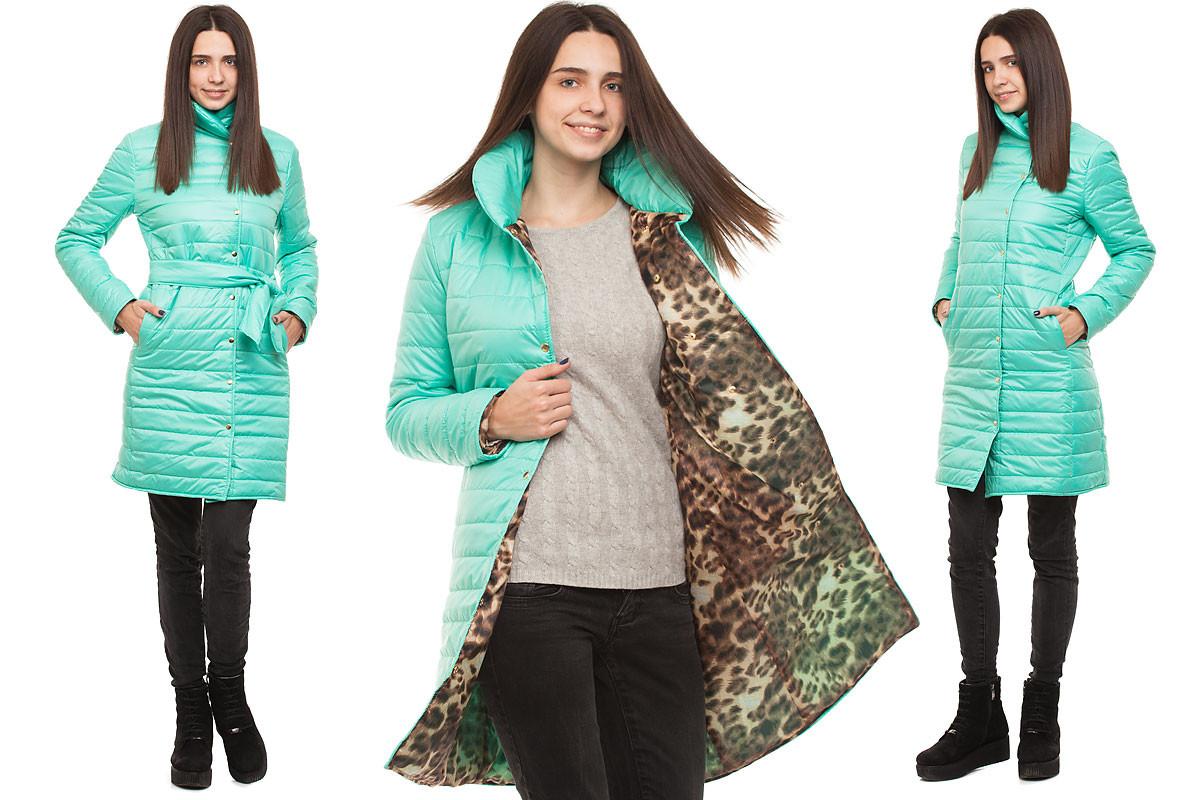 2f1155208f0 Пальто на синтепоне ментол