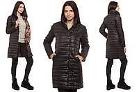 Пальто на синтепоне черное