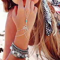 Модное украшение на руку Слейв браслет в стиле бохо №6