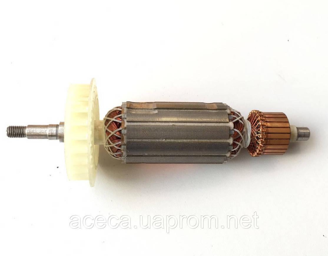 Якорь (ротор) для УШМ  Hitachi 125  G 13SP (172*36 посадка 8мм)