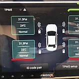 TPMS автомобільна система контролю тиску в шинах . USB для магнітол Android GPS з 4 внутрішніми датчиками, фото 7