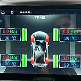 TPMS автомобільна система контролю тиску в шинах . USB для магнітол Android GPS з 4 внутрішніми датчиками, фото 6
