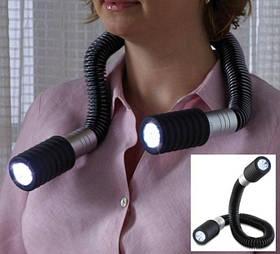 Светодиодный гибкий фонарик Flashlight Snake двухсторонний