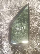 Стекло передней левой двери (форточка) Рено Мастер 2 б/у