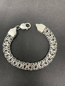 Серебряный браслет Б/У 925 пробы, длина 20,5 см, вес 24,10 г. Серебро из ломбарда
