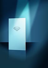 Гіпсокартон вологовогнестійкий Діамант 2500х1200х12,5 мм