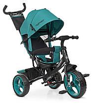 Детский трехколесный велосипед turbo trike М 3113-4-1, EVA колёса