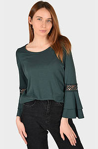 Батник женский зелёный размер 44 AAA 129730P
