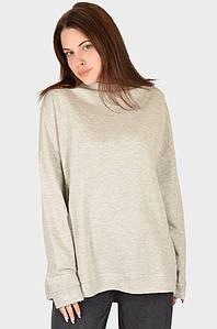 Батник женский серый размер 56 AAA 128576P