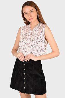 Рубашка женская белая AAA 129065M