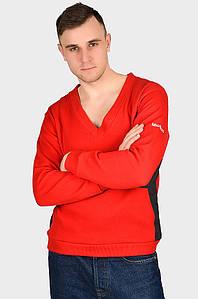 Батник мужской красный AAA 128445P