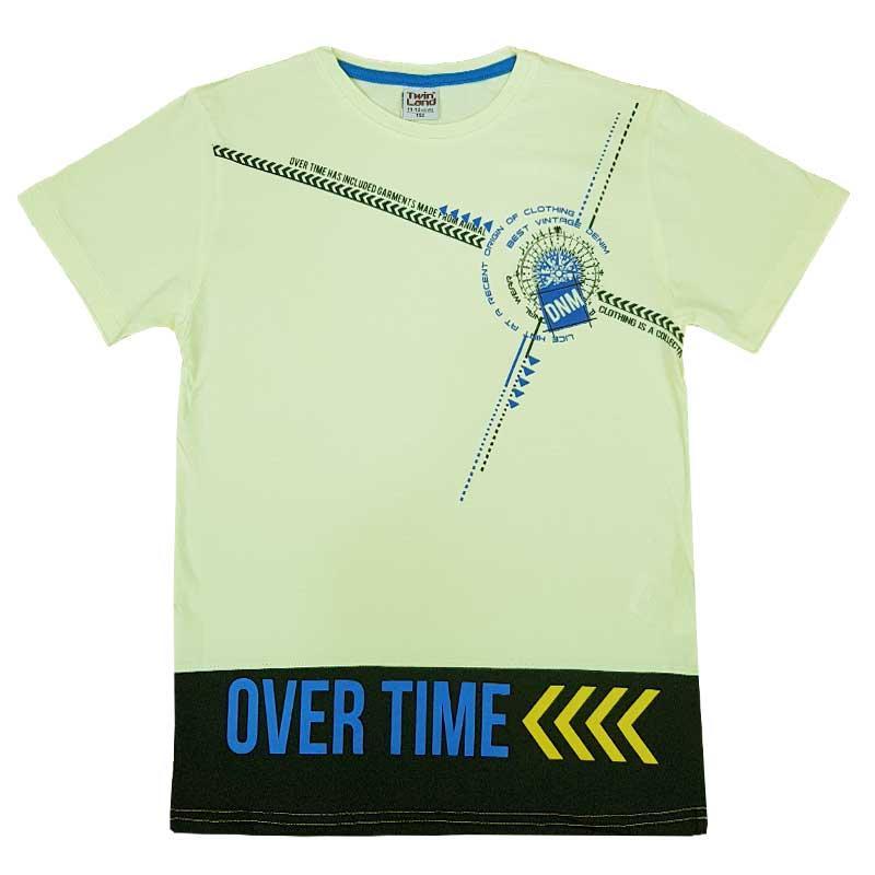 """Футболка для хлопчика """"Over time"""" 140-176 (10-15 років) арт. 2462"""