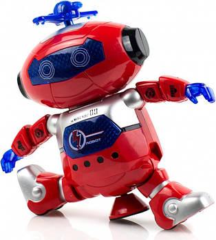 Танцующий робот Dancing Robot красный STURN SPIN танцующая игрушка робот