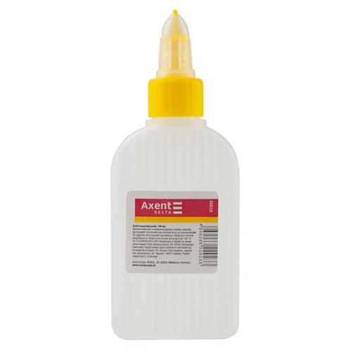 Клей канцелярский Axent 100 мл колпачок-дозатор силикатный (D7222)