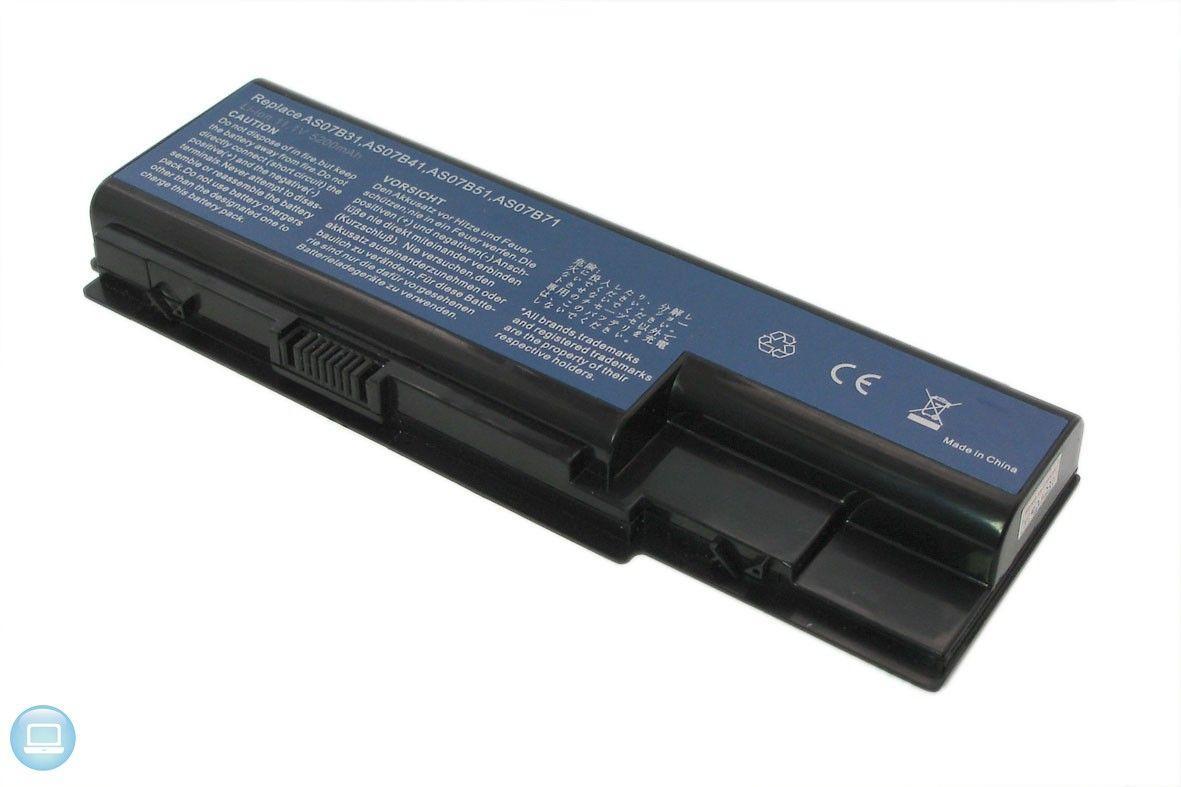 Аккумулятор для ноутбука Acer AC5920 TravelMate 7730 / 11.1 V 4400mAh / 5520-3S2P-4400 Elements Pro Black