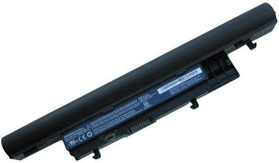 Аккумулятор для ноутбука Acer AS10H3E Gateway EC39C / 11.1 V 4400mAh / Black