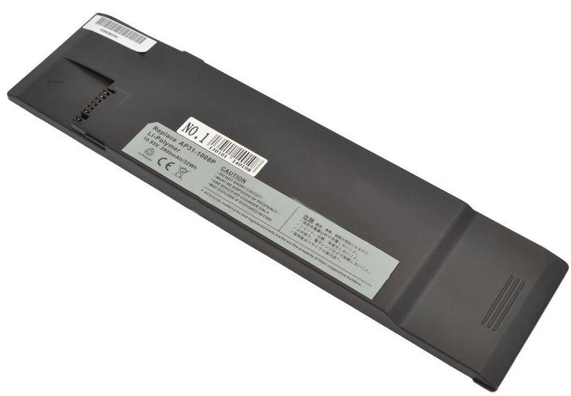 Аккумулятор для ноутбука Asus 1008P-3S1P / 10,95V 2200mAh / Black