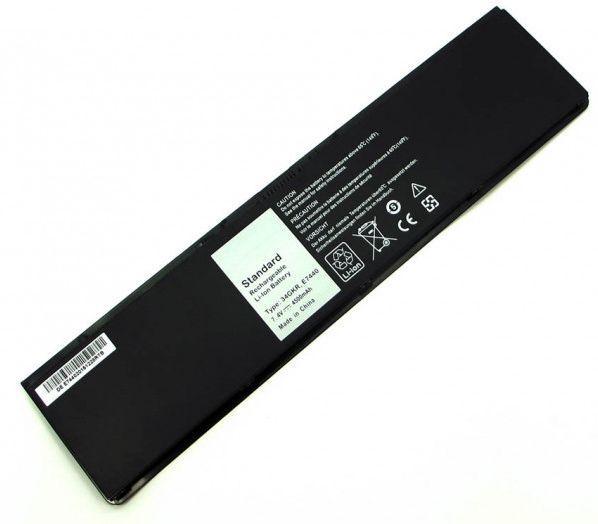 Аккумулятор для ноутбука Dell 34GKR Latitude E7440 / 7.4V 4500mAh / Black