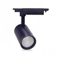 Трековий світильник Feron AL102 12W 4000К чорний