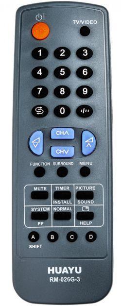 Пульт универсальный Huayu SHARP RM-026G