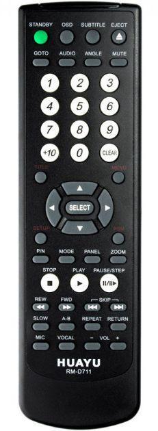 Пульт универсальный Huayu BBK RM-D711 (3 КОДА)