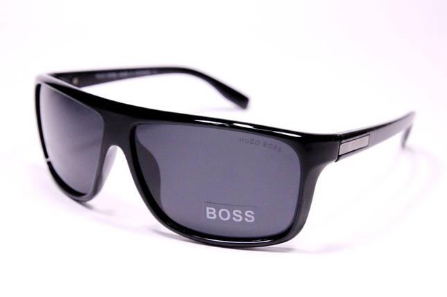Чоловічі сонцезахисні окуляри Wayfarer Хьюго Бос P0513 C репліка з поляризацією, фото 2